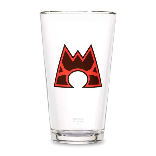 Image for Team Magma Glass Tumbler from Pokemon Center