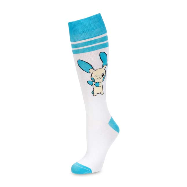 Image for Plusle and Minun Mid-Calf Socks (One Size-Adult) from Pokemon Center