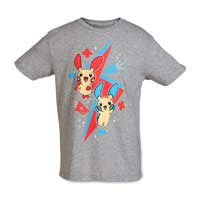 Image for Plusle and Minun Youth Relaxed Fit Crewneck T-Shirt from Pokemon Center