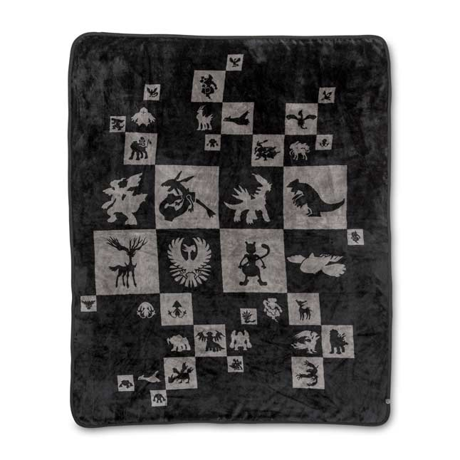 Image for Legendary Pokémon Pattern Fleece Throw from Pokemon Center