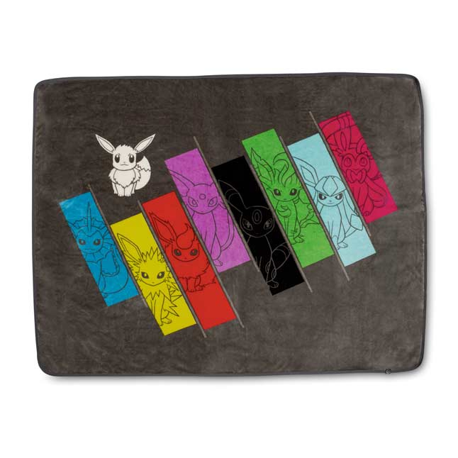Image for Eevee Spectrum Sweet Fleece Throw from Pokemon Center