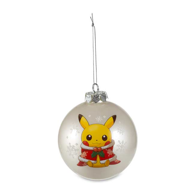 Image for Pikachu Holiday Globe Ornament from Pokemon Center