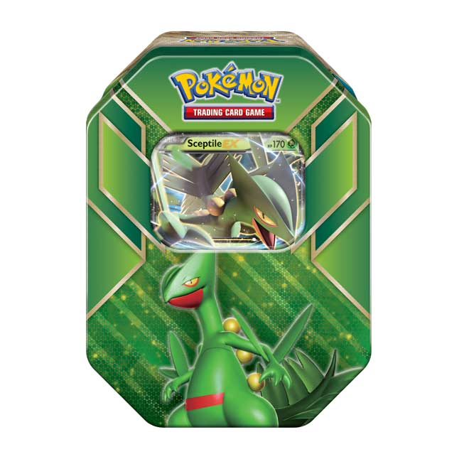 Image for Pokémon TCG: Hoenn Power Tin (Sceptile) from Pokemon Center