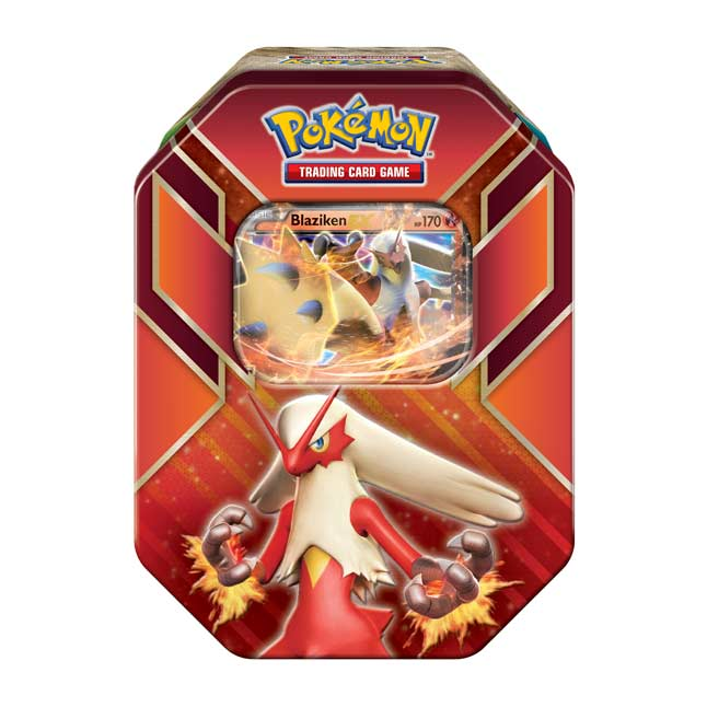 Image for Pokémon TCG: Hoenn Power Tin (Blaziken) from Pokemon Center