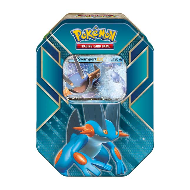 Image for Pokémon TCG: Hoenn Power Tin (Swampert) from Pokemon Center