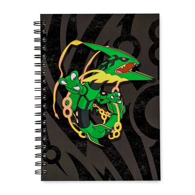 Image for Mega Rayquaza Spiral Notebook (200 Pages) from Pokemon Center