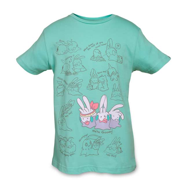Image for Goomy Relaxed Fit Youth Crewneck T-Shirt from Pokemon Center