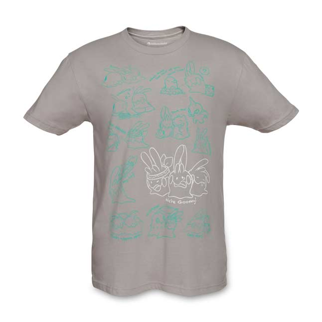 Image for Goomy Fitted Men's Crewneck T-Shirt from Pokemon Center