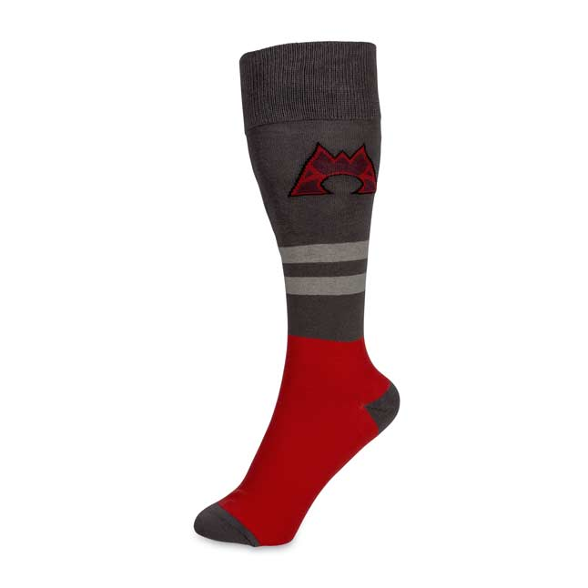 Image for Team Magma Mid-Calf  Socks (One Size—Adult) from Pokemon Center
