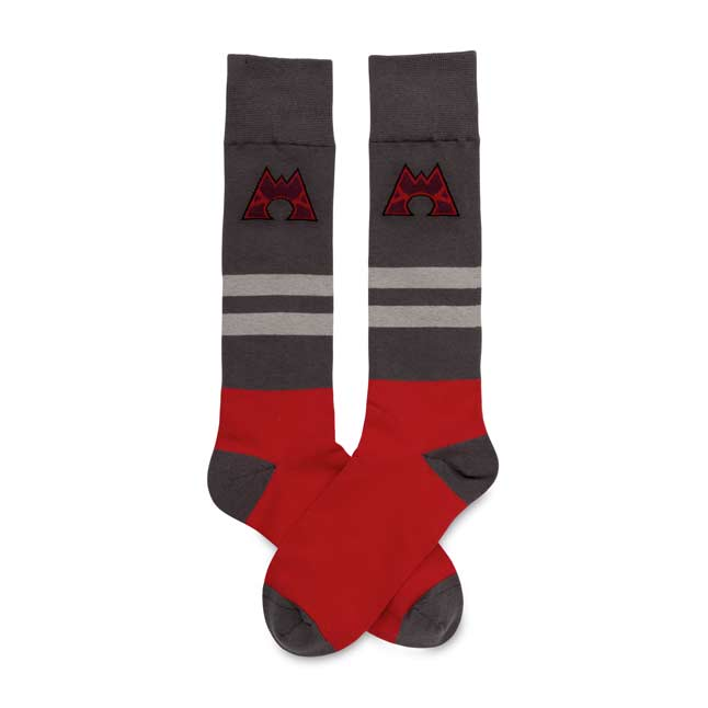 Image for Team Magma Mid-Calf  Socks (One Size-Adult) from Pokémon Center