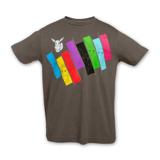 Image for Eevee Spectrum Sweet Youth Relaxed Fit Crewneck T-Shirt from Pokemon Center