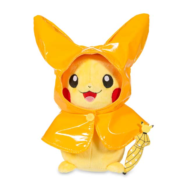 "Image for Pikachu Celebrations: Rainy Season Pikachu Poké Plush (Standard Size) - 9"" from Pokemon Center"