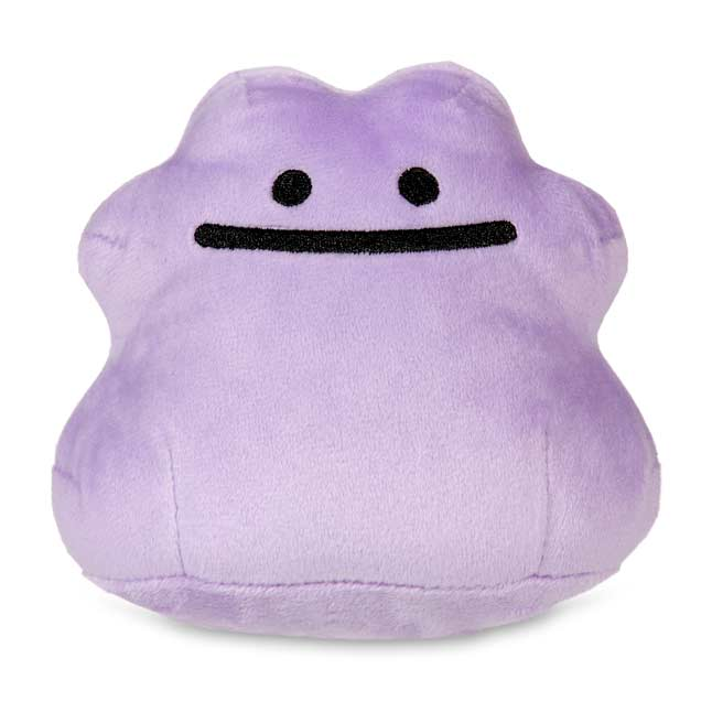 "Image for Ditto Secret Base Poké Doll Plush - 4 1/2"" from Pokemon Center"