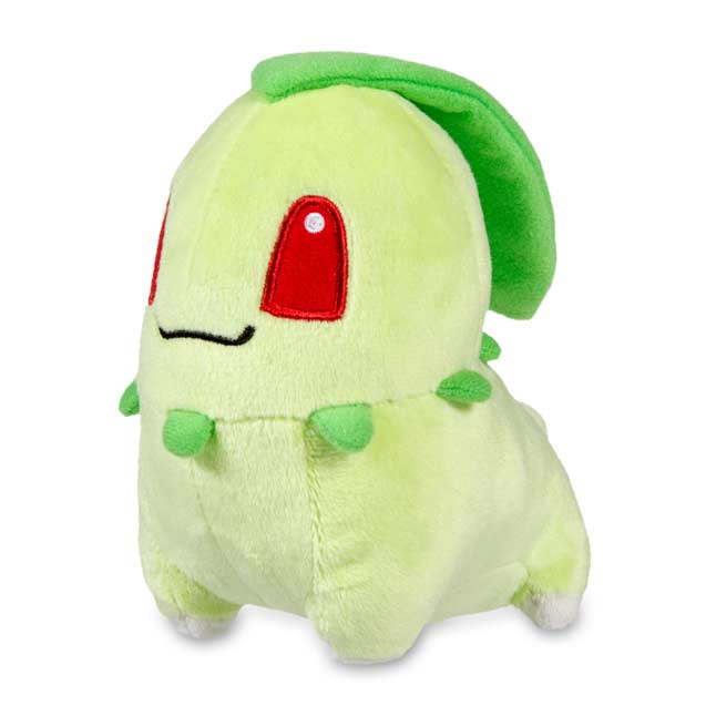 "Image for Chikorita Secret Base Poké Doll Plush - 5 3/4"" from Pokemon Center"