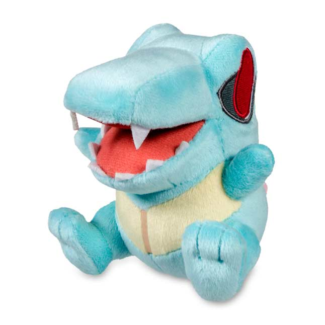 "Image for Totodile Secret Base Poké Doll Plush - 4 1/2"" from Pokemon Center"
