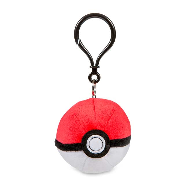 Image for Poké Ball Plush Keychain from Pokemon Center