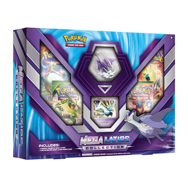 Image for Pokémon TCG: Mega Latios Collection (Includes Figure) from Pokemon Center