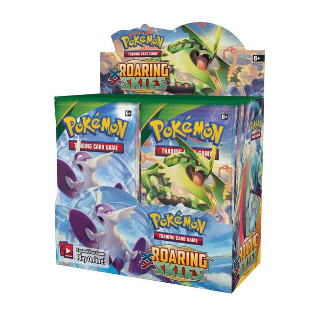 Image for Pokémon TCG: XY-Roaring Skies Booster Display from Pokemon Center