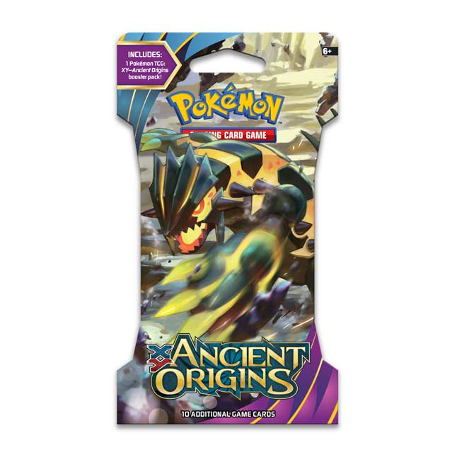 Image for Pokémon TCG: XY-Ancient Origins Sleeved Booster Pack (10 Cards) from Pokemon Center