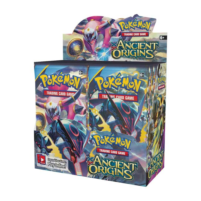 Image for Pokémon TCG: XY-Ancient Origins Booster Display (36 Packs) from Pokemon Center