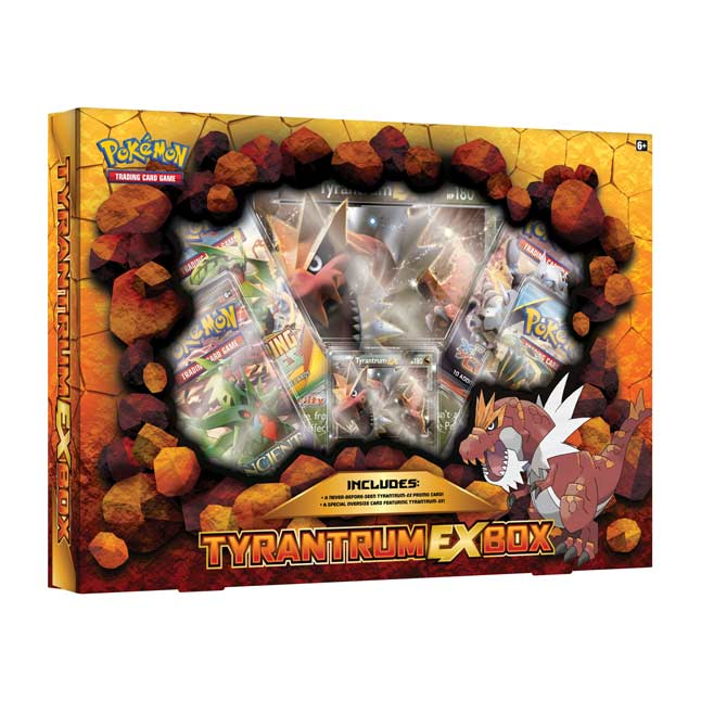 Image for Pokémon TCG: Tyrantrum-EX Box from Pokemon Center