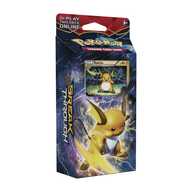 Image for Pokémon TCG: XY-BREAKthrough Burning Spark Theme Deck from Pokemon Center
