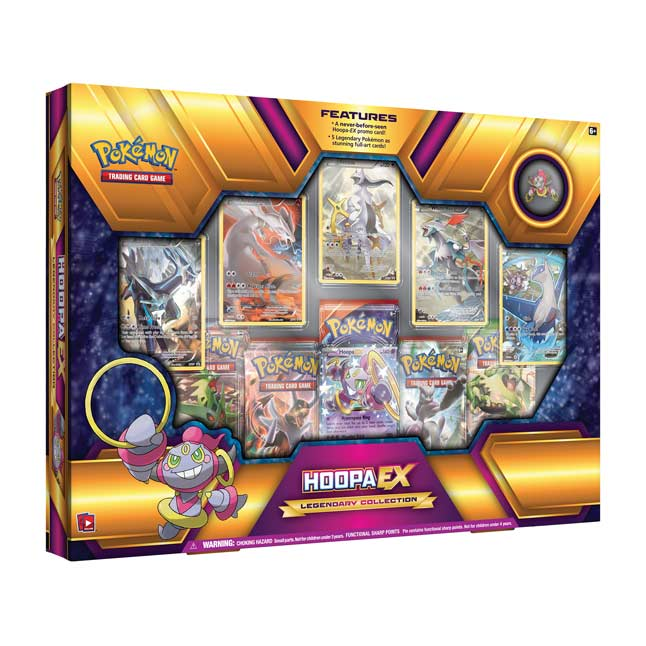 Image for Pokémon TCG: Hoopa-EX Legendary Collection (Includes Pin) from Pokemon Center