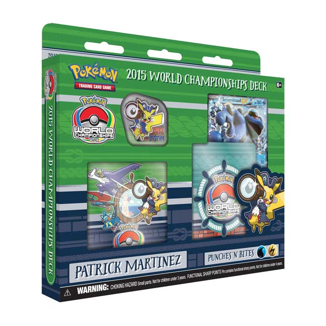 Image for Pokémon TCG: 2015 World Championships Deck-Patrick Martinez from Pokemon Center