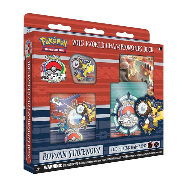 Image for Pokémon TCG: 2015 World Championships Deck-Rowan Stavenow from Pokemon Center