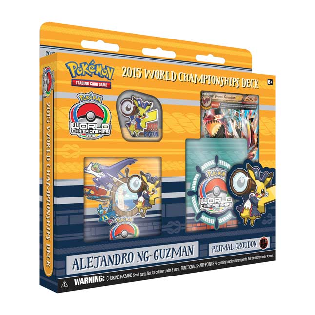 Image for Pokémon TCG: 2015 World Championships Deck-Alejandro Ng-Guzman from Pokemon Center