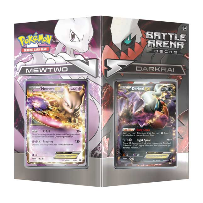 Image for Pokémon TCG: Battle Arena Decks Mewtwo vs. Darkrai from Pokemon Center