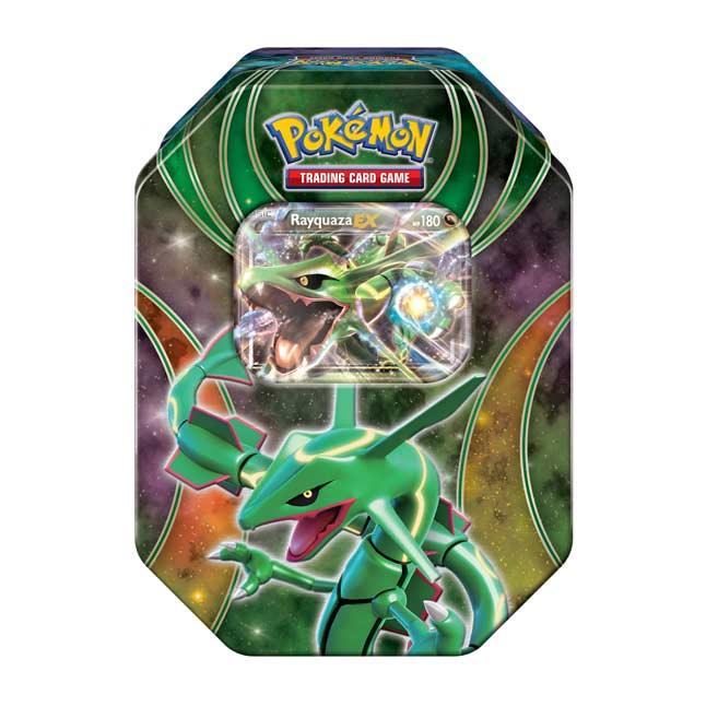 Image for Pokémon TCG: Powers Beyond Tin (Rayquaza) from Pokemon Center