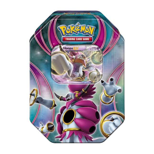 Image for Pokémon TCG: Powers Beyond Tin (Hoopa Unbound) from Pokemon Center