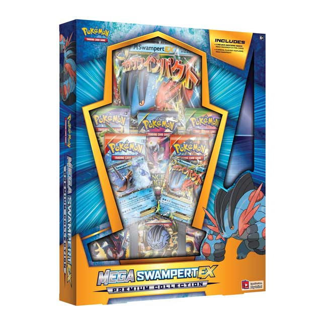 Image for Pokémon TCG: Mega Swampert-EX Premium Collection (Includes Playmat) from Pokemon Center
