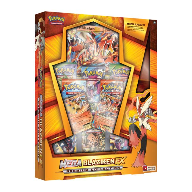 Image for Pokémon TCG: Mega Blaziken-EX Premium Collection (Includes Playmat) from Pokemon Center