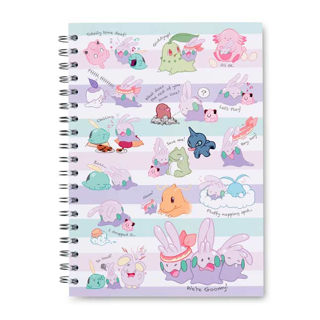 Image for We're Goomy Spiral Notebook (200 Pages) from Pokemon Center