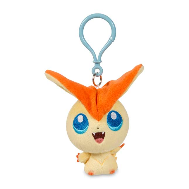 Image for Victini Pokémon Petit Plush Keychain from Pokemon Center