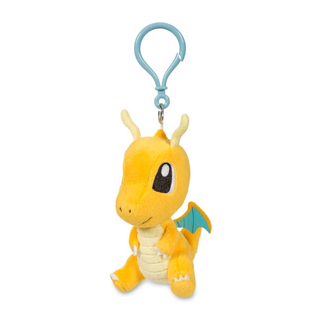 Image for Dragonite Pokémon Petit Plush Keychain from Pokemon Center