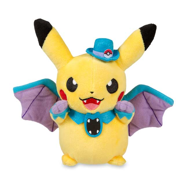 "Image for Golbat Costume Pikachu Poké Plush (Standard Size) - 7 1/2"" from Pokemon Center"