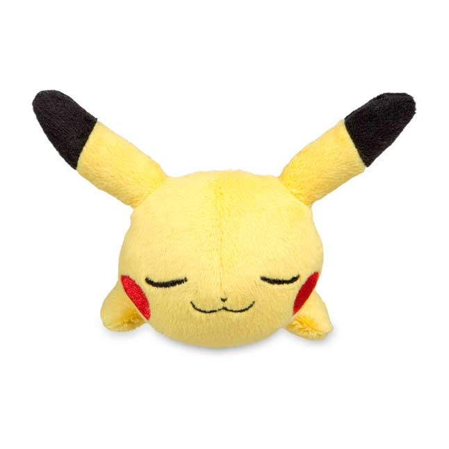 Image for Sleeping Pikachu Kuttari Cutie Poké Plush from Pokemon Center