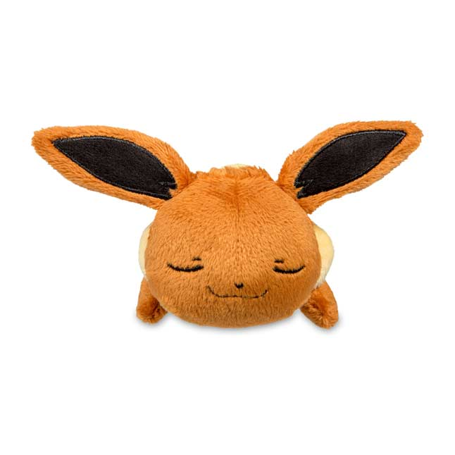 Image for Sleeping Eevee Kuttari Cutie Poké Plush from Pokemon Center