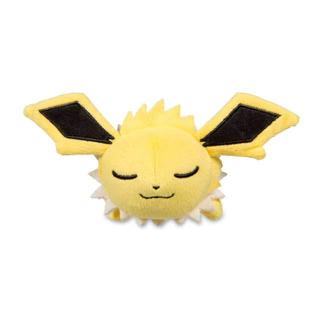Image for Sleeping Jolteon Kuttari Cutie Poké Plush from Pokemon Center