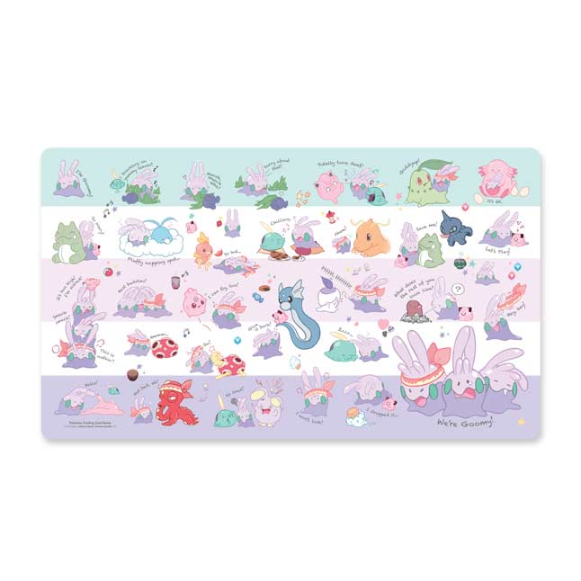 Image for Pokémon TCG: We're Goomy Playmat from Pokemon Center