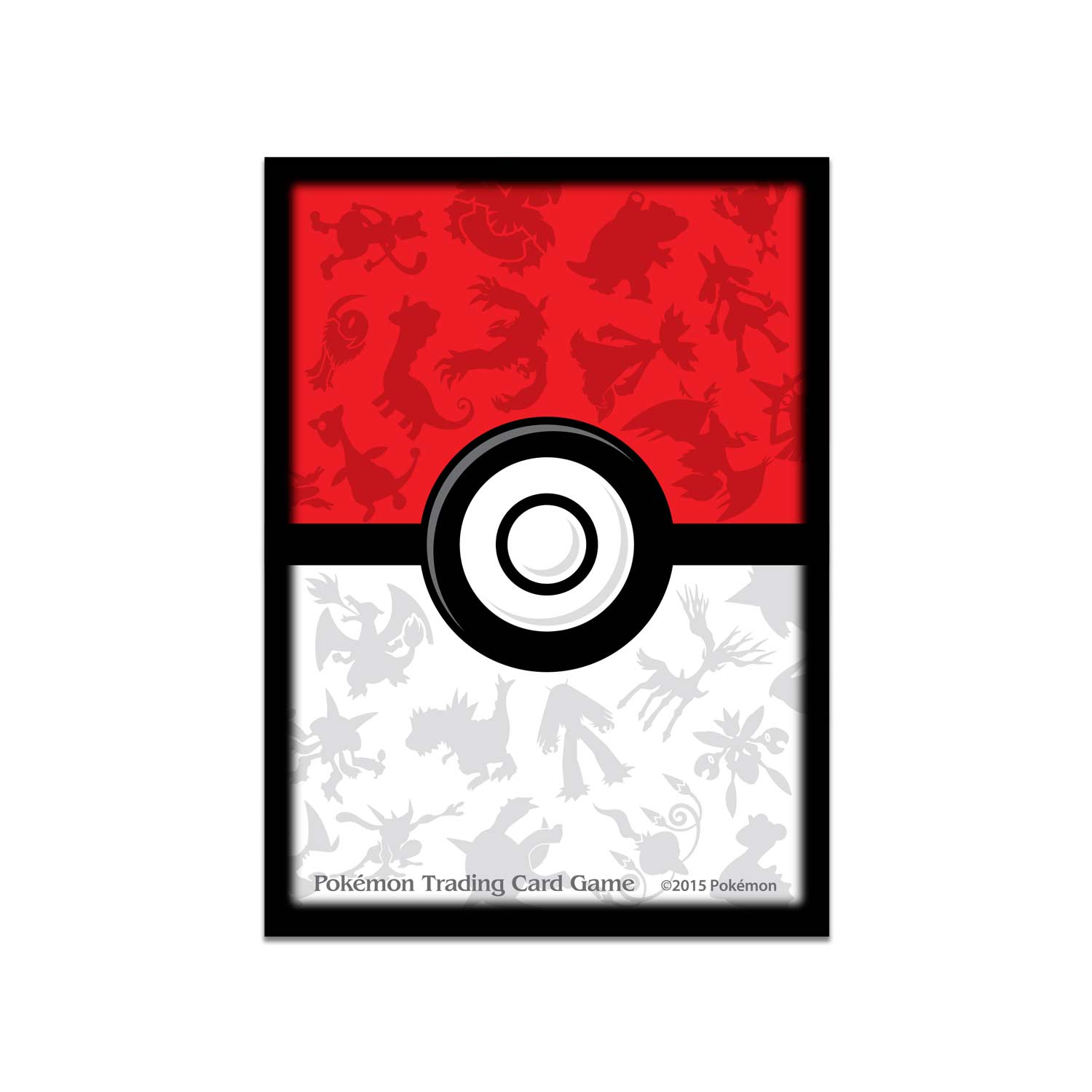 graphic regarding Printable Pokemon Trading Cards titled Poké Ball Card Sleeves (65 Sleeves)
