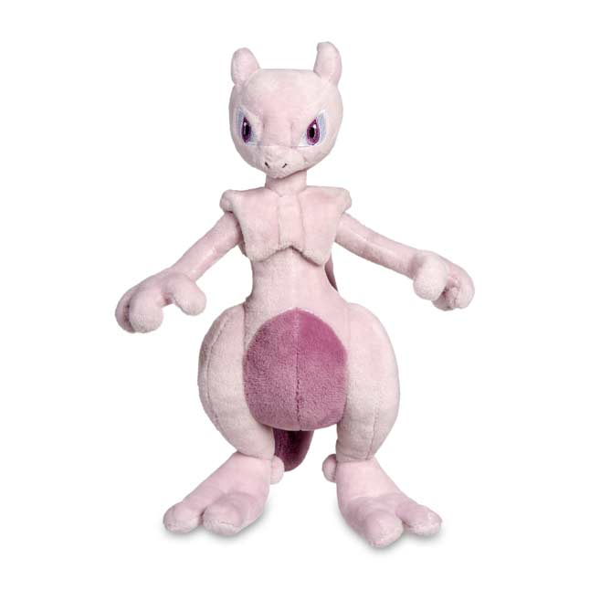 "Image for Mewtwo Poké Plush (Large Size) - 10 1/2"" from Pokemon Center"