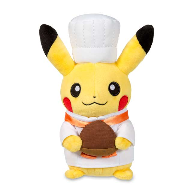 "Image for Pikachu Celebrations: Pastry Chef Poké Plush (Standard Size) - 8 1/4"" from Pokemon Center"
