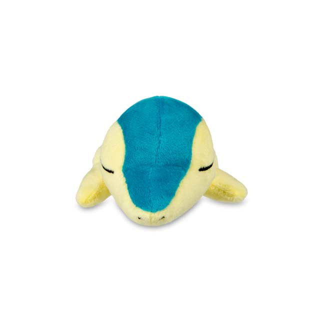 Image for Sleeping Cyndaquil Kuttari Cutie Poké Plush from Pokemon Center