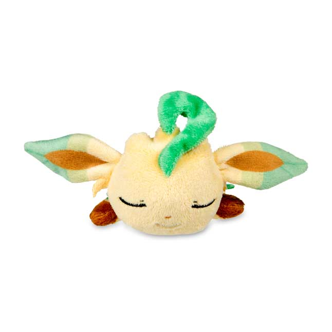 Image for Sleeping Leafeon Kuttari Cutie Poké Plush from Pokemon Center