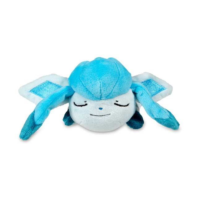 Image for Sleeping Glaceon Kuttari Cutie Poké Plush from Pokemon Center