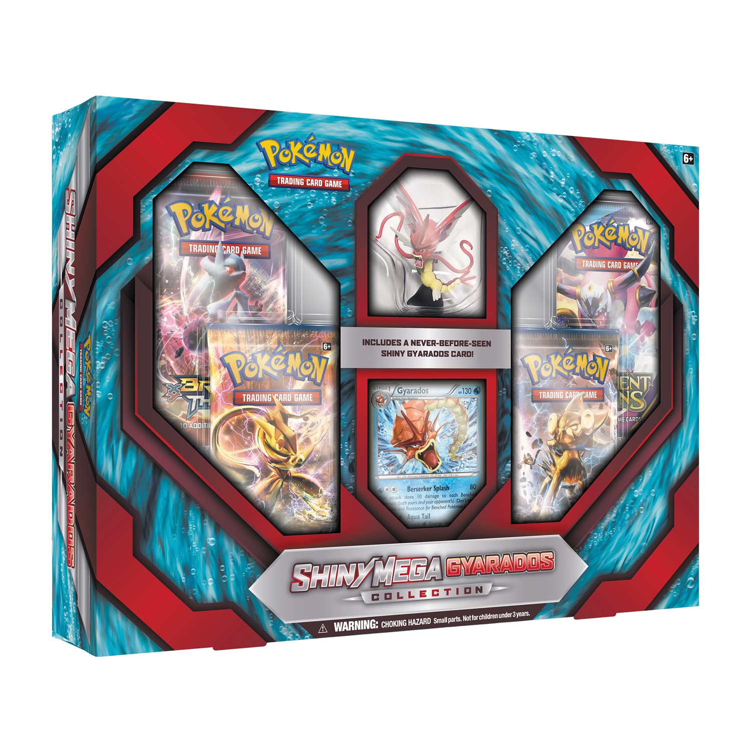 Toys For Cards : Shiny mega gyarados collection pokémon figure promo